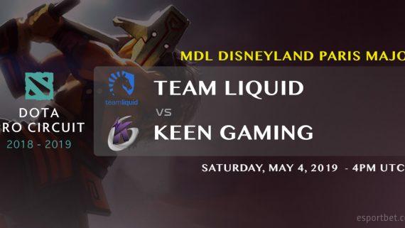 liquid v Keen MDL Dota 2