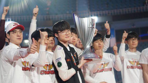 SKT T1 League of Legends news
