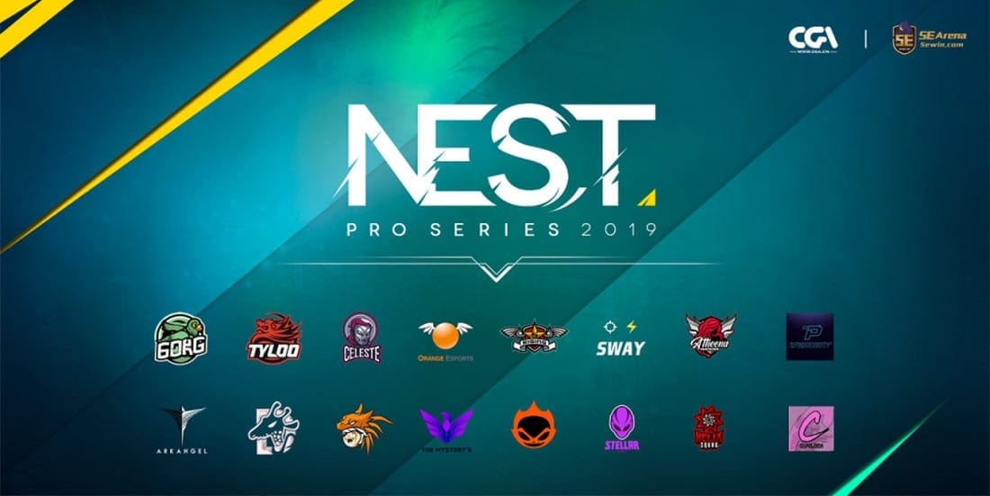 NEST Pro Series CS:GO betting