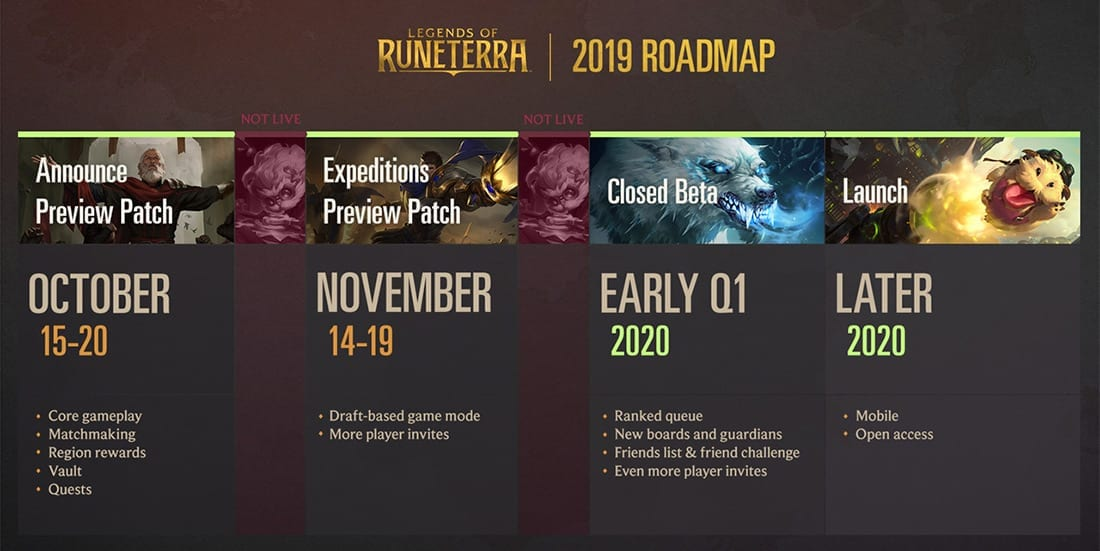 Legends of Runeterra news