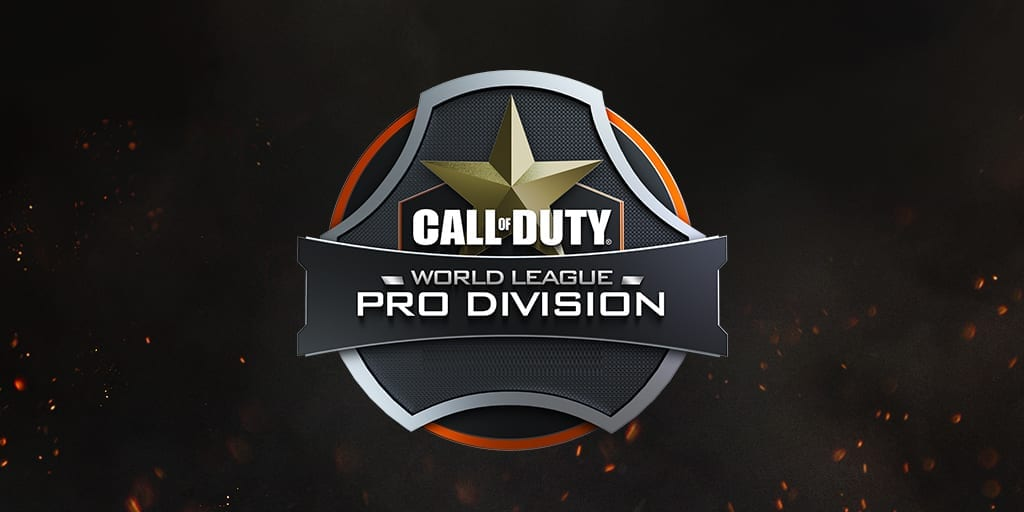 COD World League Pro Division Logo