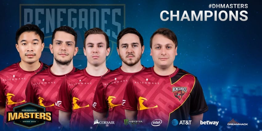 Renegades CS:GO news