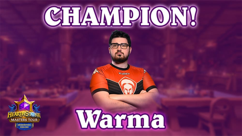 Warma Hearthstone news