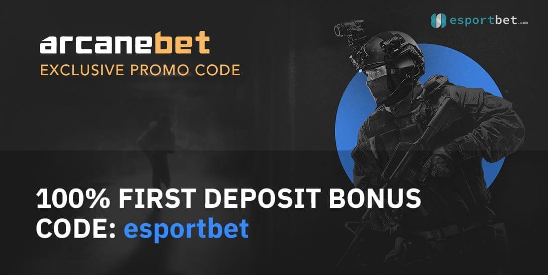 Arcanebet exclusive deposit bonus code
