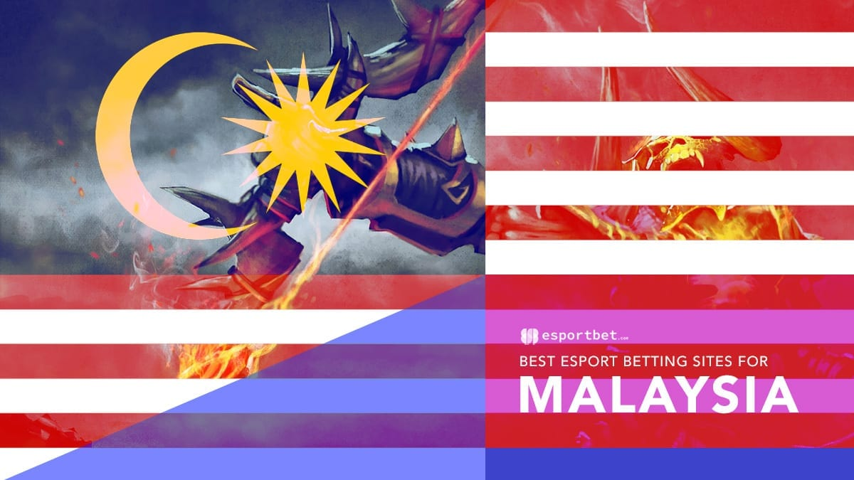 Best bookies for esport odds in Malaysia