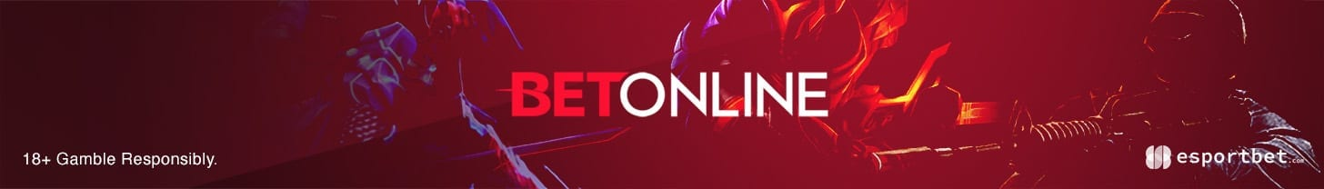 BetOnline.com claim exclusive esports betting bonuses