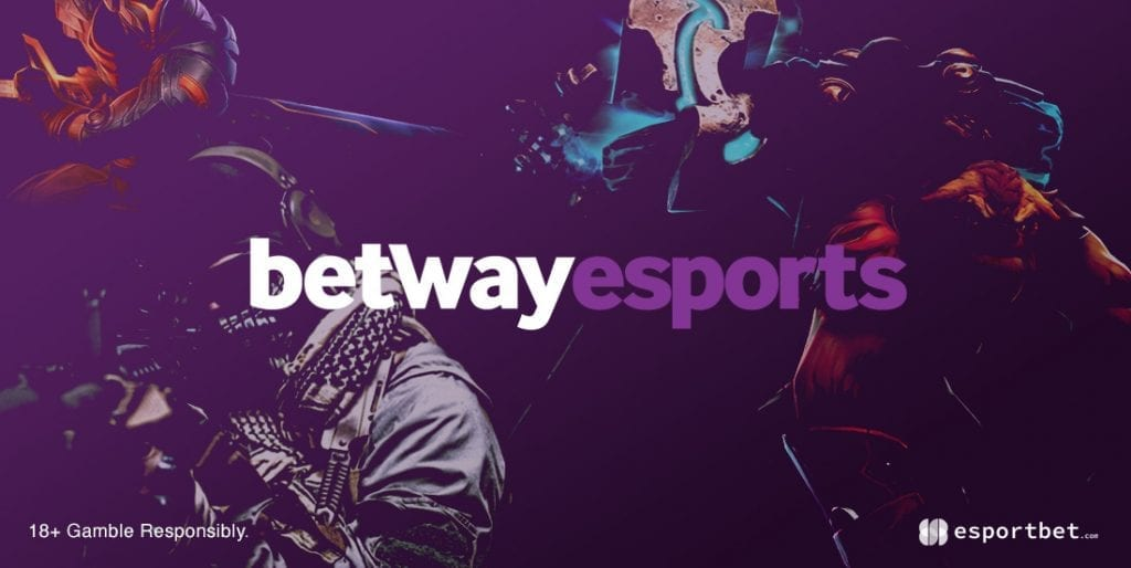 Betway esports betting site bonus
