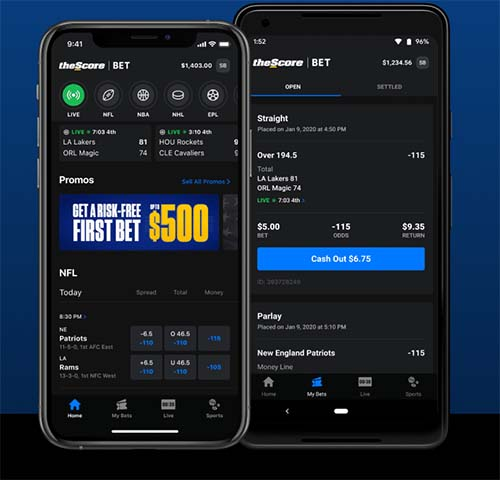 The Score app betting review